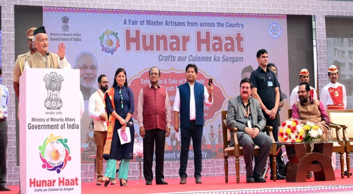 'Hunar haat' inaugurated at Mumbai's BKC