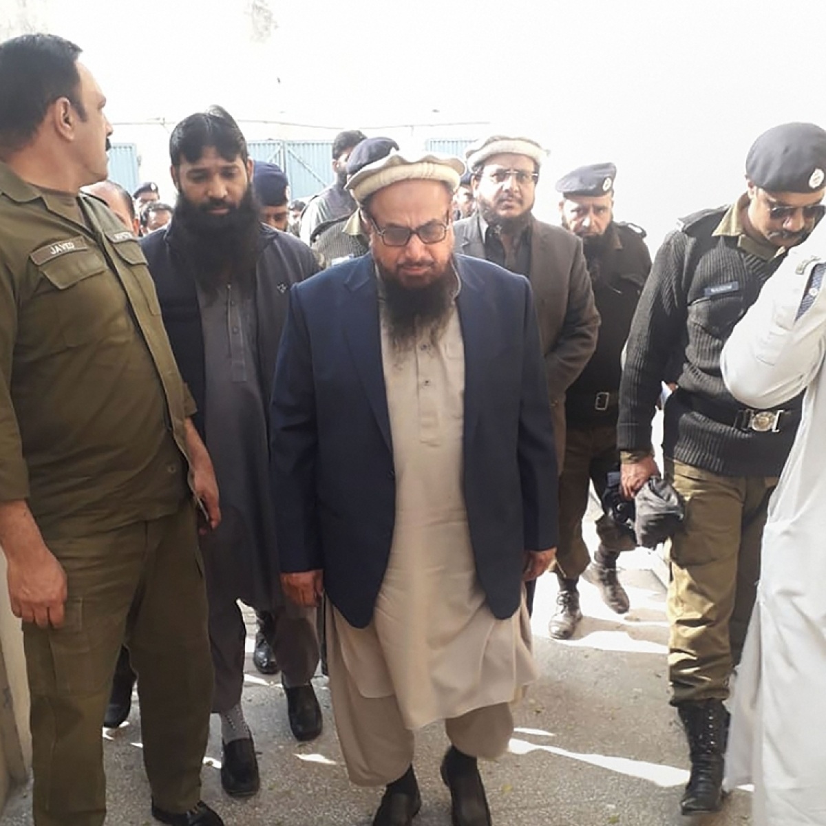 Hafiz Saeed not produced before court due to lawyers' strike