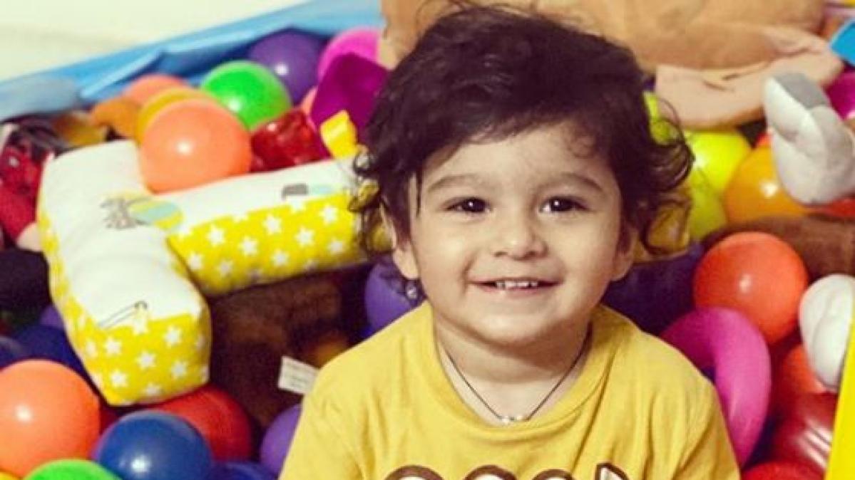 Sania Mirza's son Izhaan Mirza