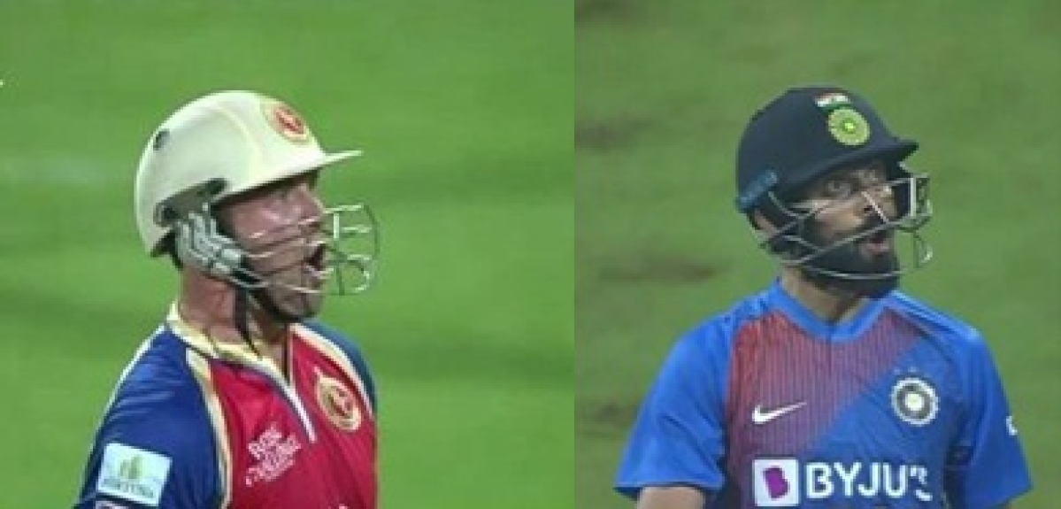 Did 'brother' AB De Villiers inspire Virat Kohli's 'comical O' celebration?