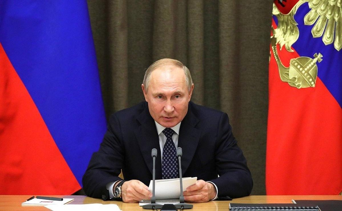 Russia's President Vladimir Putin slams WADA, calls the ban 'politically motivated'