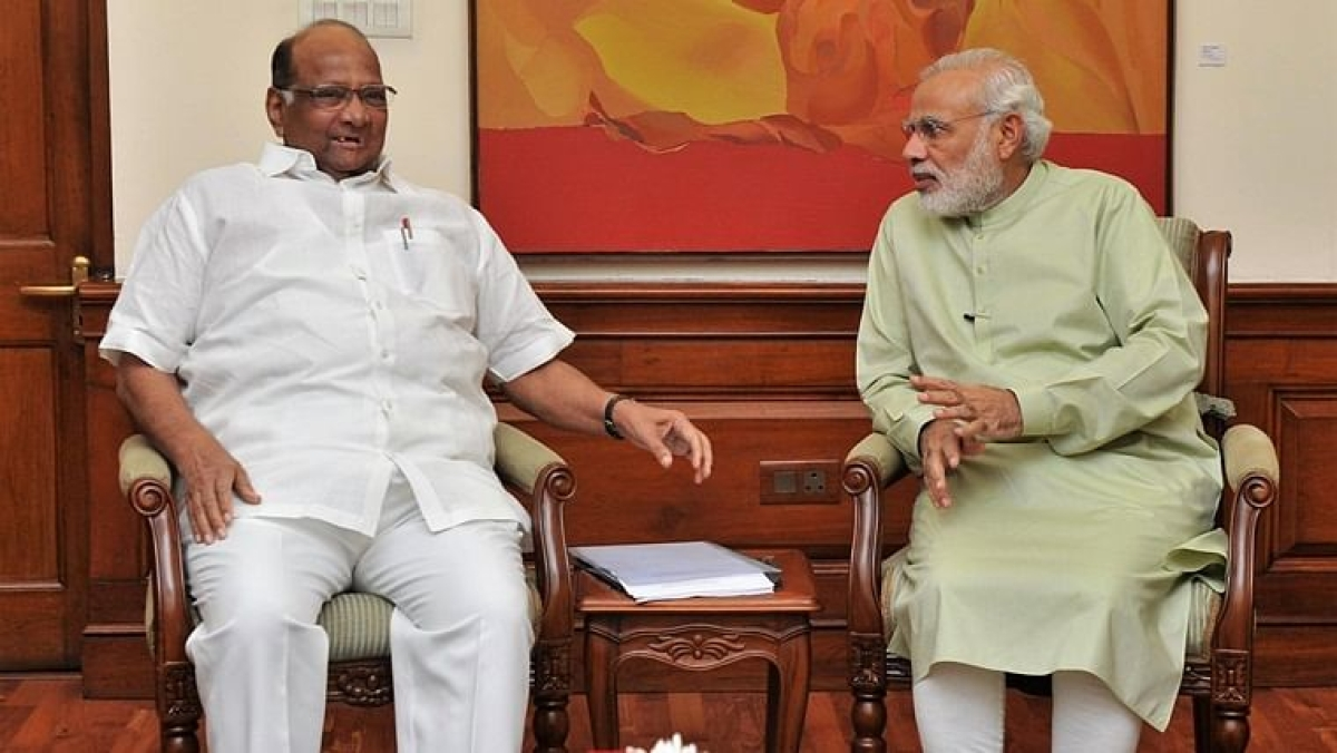 Declined Modi's proposal to tie-up between BJP and NCP to form govt in Maharashtra: Sharad Pawar