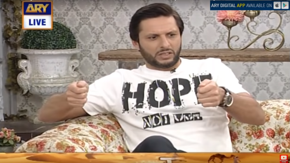 Shahid Afridi says he smashed TV after daughter imitated 'aarti' while watching show; old video goes viral