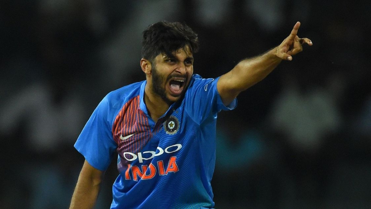 Shardul Thakur has been included in India's ODI squad as a replacement for Bhuvneshwar Kumar