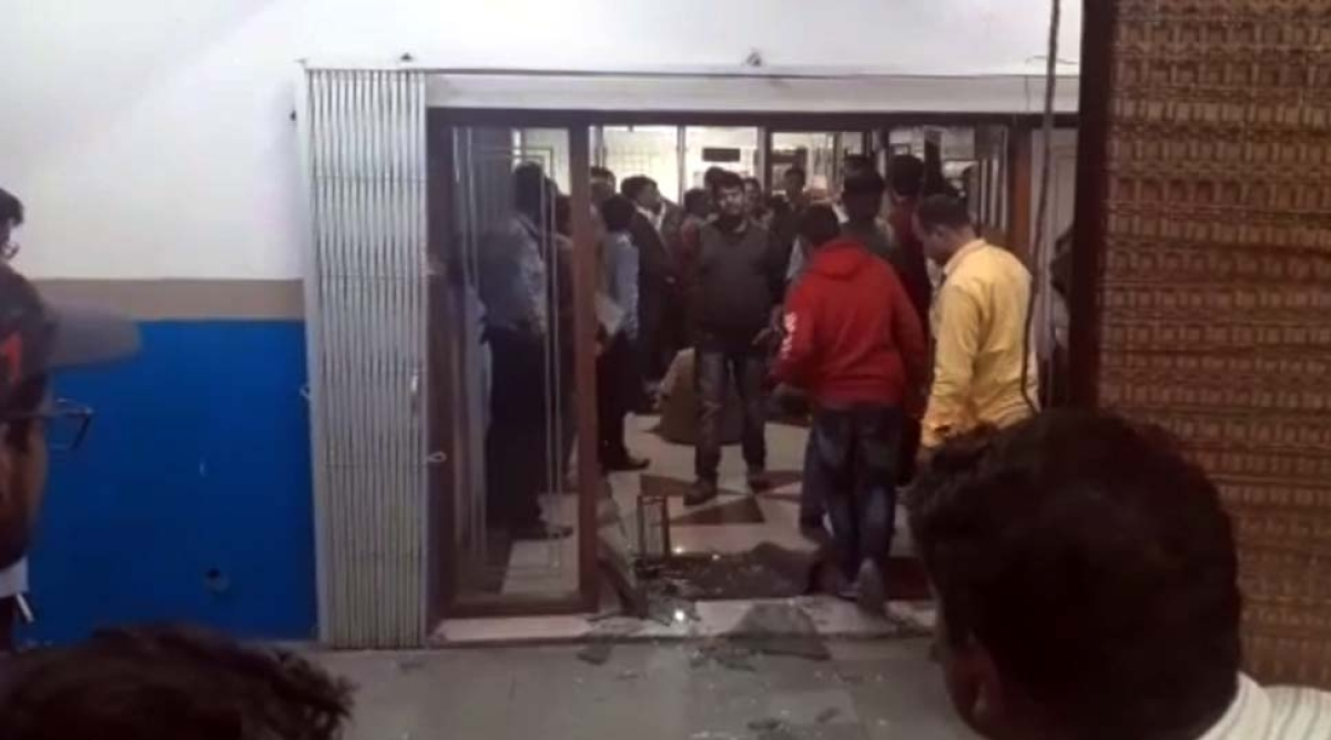 Bhopal: MCU students stage protest outside VC's office