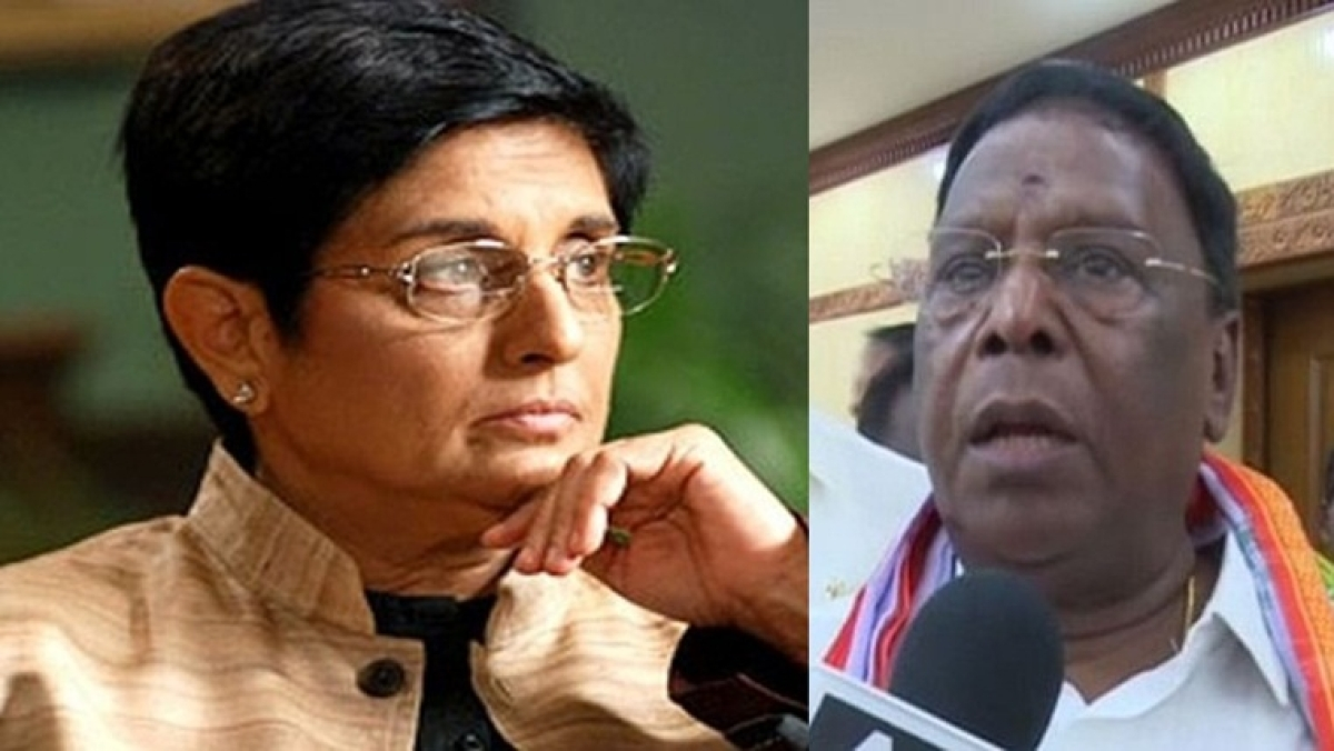 'Crossing line of decorum': Kiran Bedi asks Puducherry CM to stop making 'derogatory' remarks against her