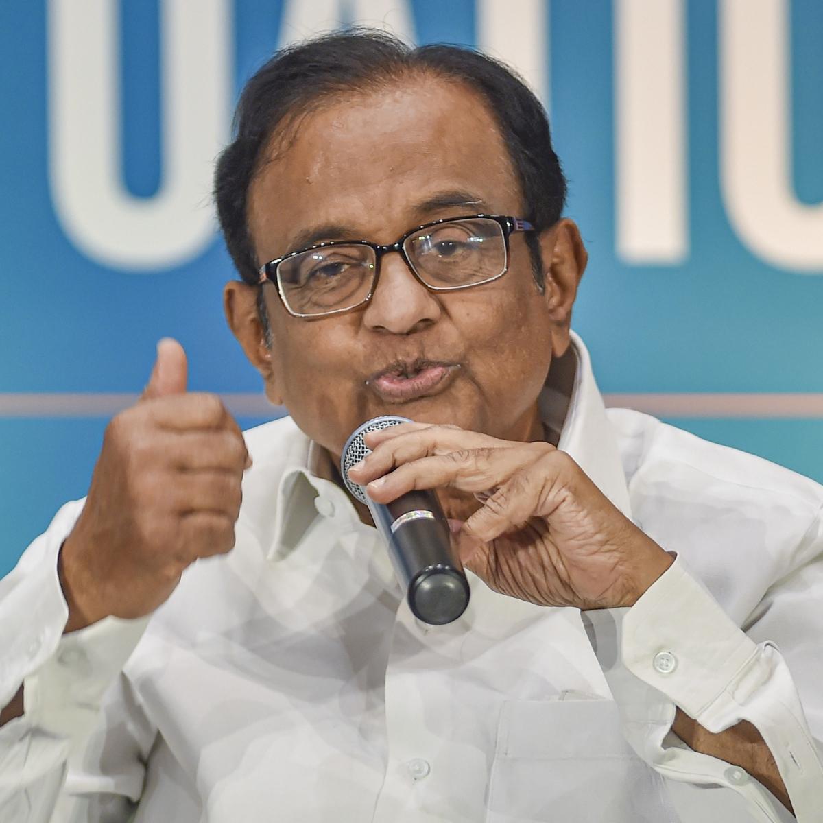 Who said BJP cannot be defeated?: P Chidambaram amid Bihar polls