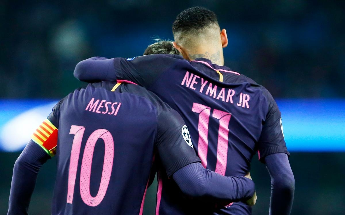 Take my crown: Messi willing to handover Barcelona baton to Neymar Jr