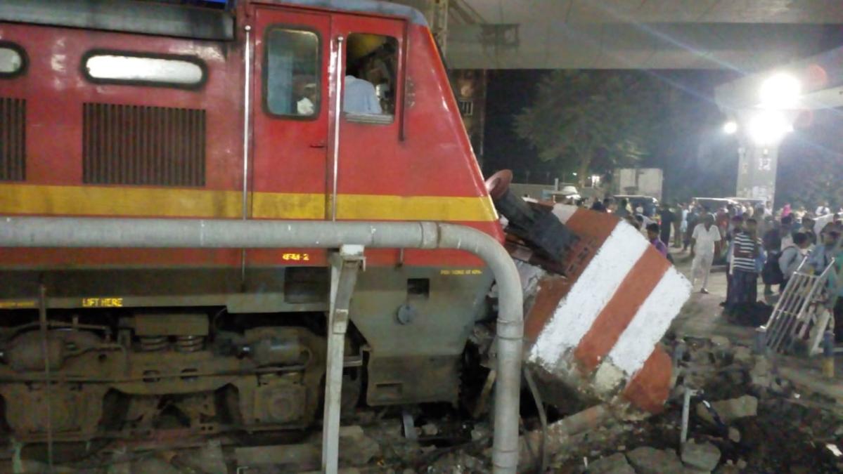 Smoke after brake jam triggers panic on board Pawan Express