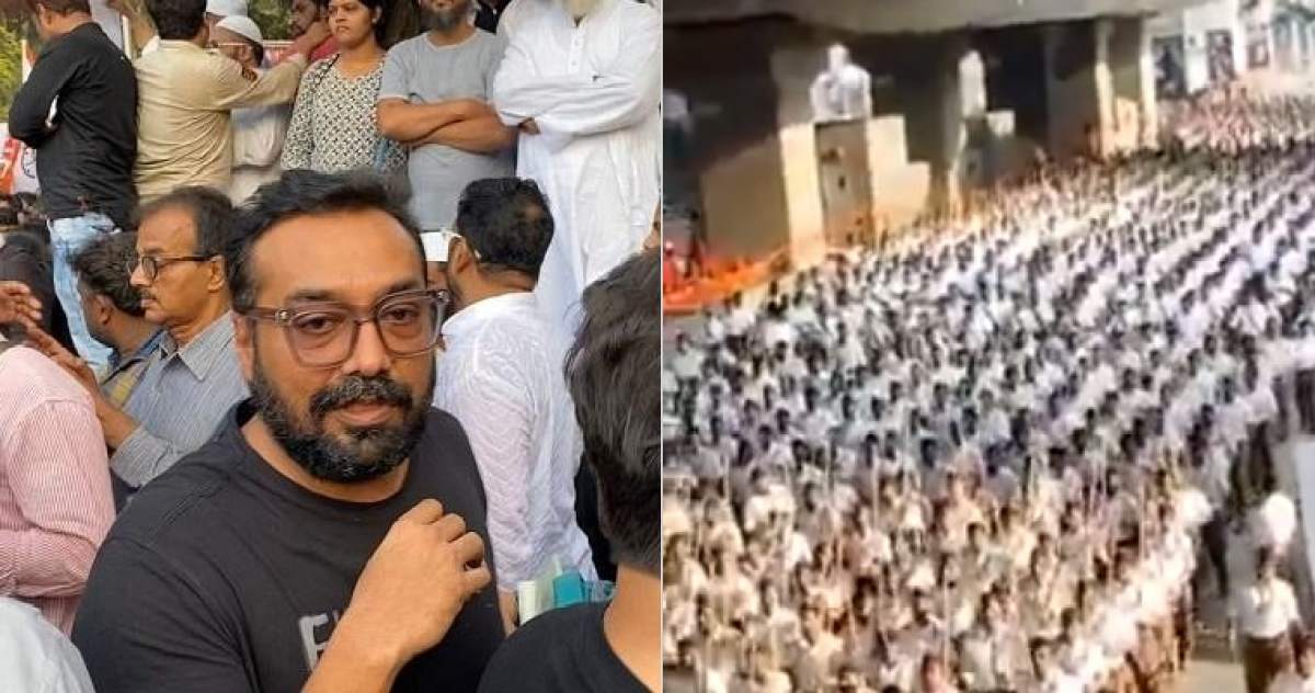 'Rashtriya Schutzstaffel': Anurag Kashyap mocks RSS march in Telangana, makes another Hitler analogy