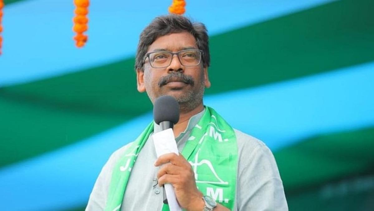 Jharkhand chief minister Hemant Soren