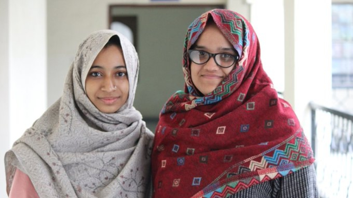 Ladeeda Farzana and Ayesha Renna