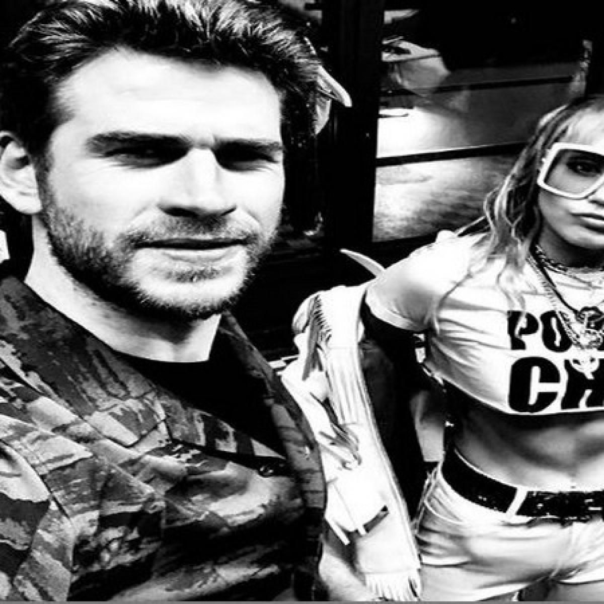 Miley Cyrus takes a jab at ex-husband Liam Hemsworth