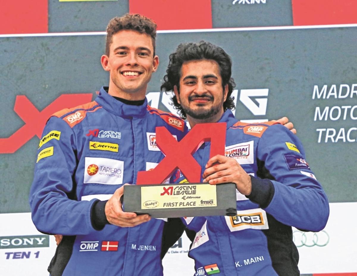 XI Racing League: Mumbai Falcons soar high with double