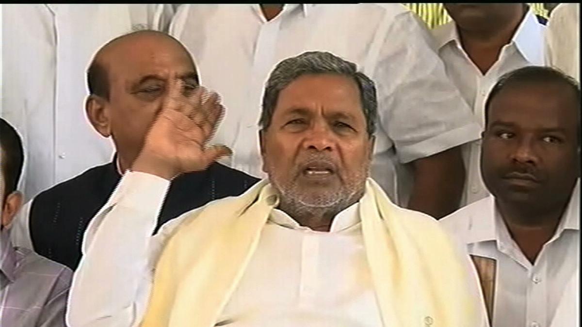 Restricting entry into Mangaluru murder of democracy: Sidda
