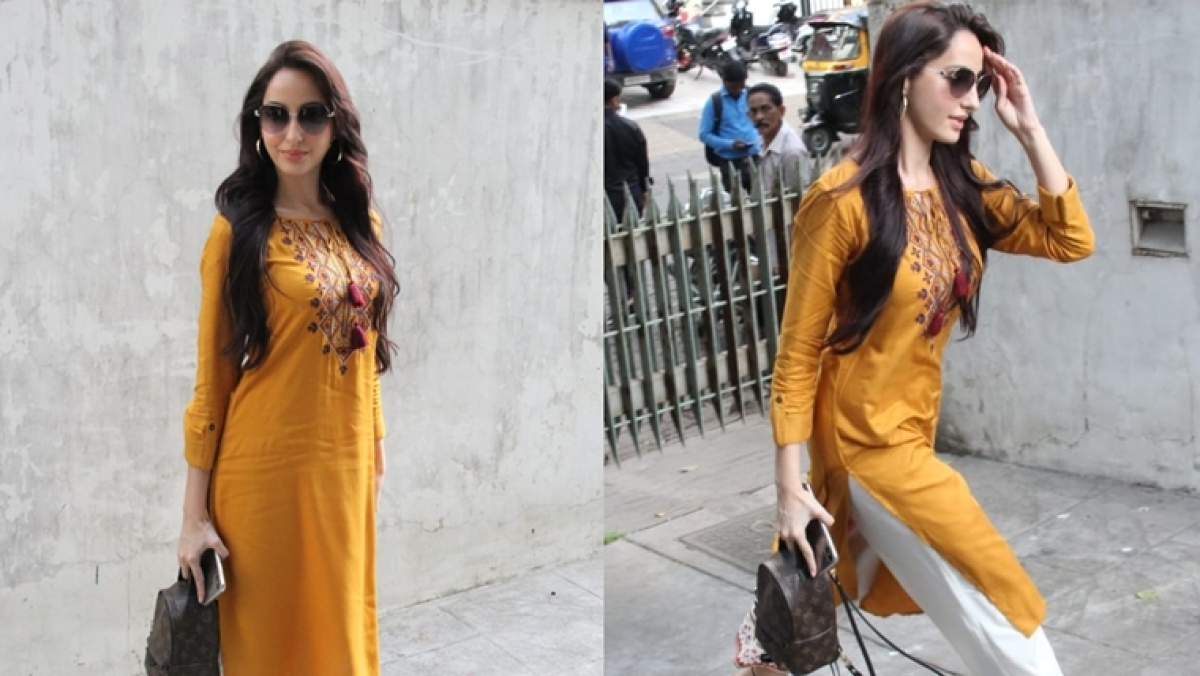 Did Nora Fatehi accidentally spend Rs 1.3 lakh on a kid's bag?