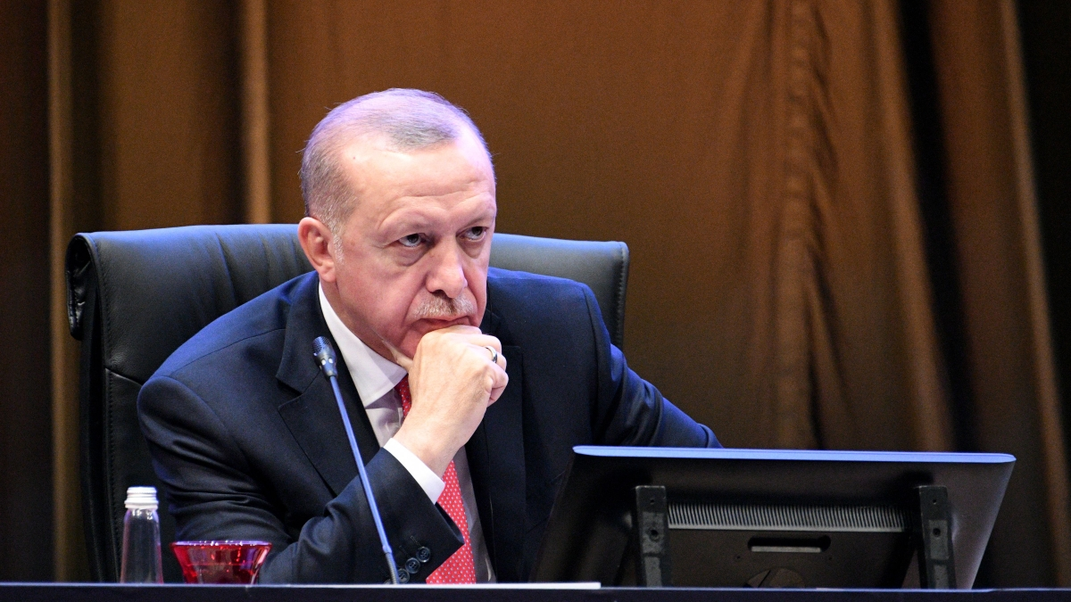 Israel-Palentine plan is 'absolutely unacceptable', says Turkey's Erdogan