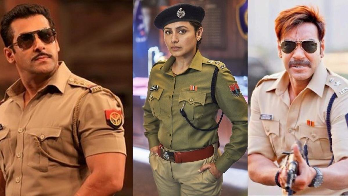 Did Rani Mukerji take a dig at 'larger-than-life cops' played by Salman Khan and Ajay Devgn?