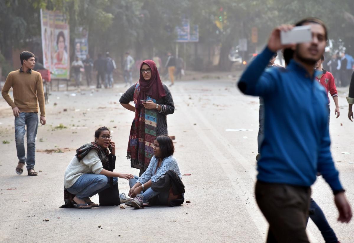 NHRC visits Jamia Millia Islamia, assesses damage