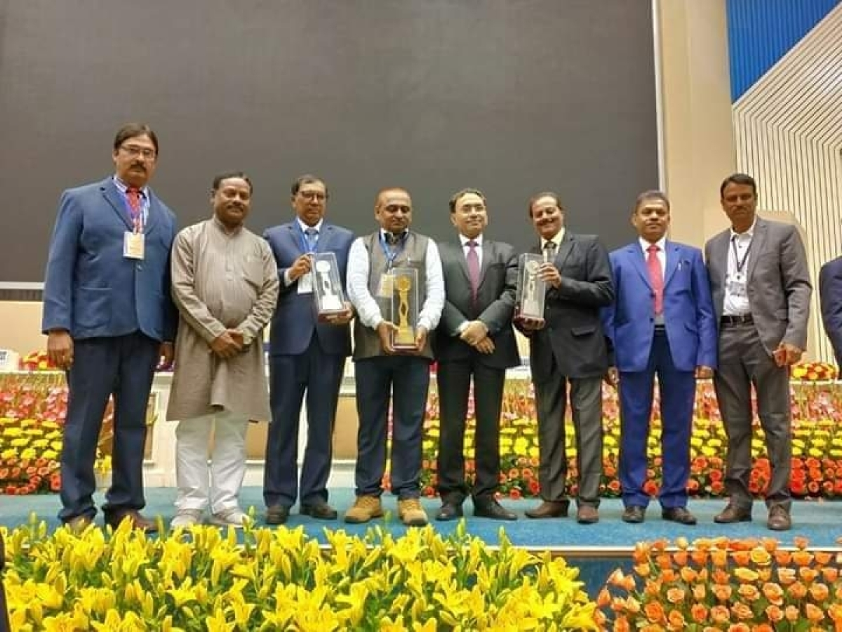 Central Coalfields Limited bags 4 awards at National Safety Award (Mines) 2015 & 2016