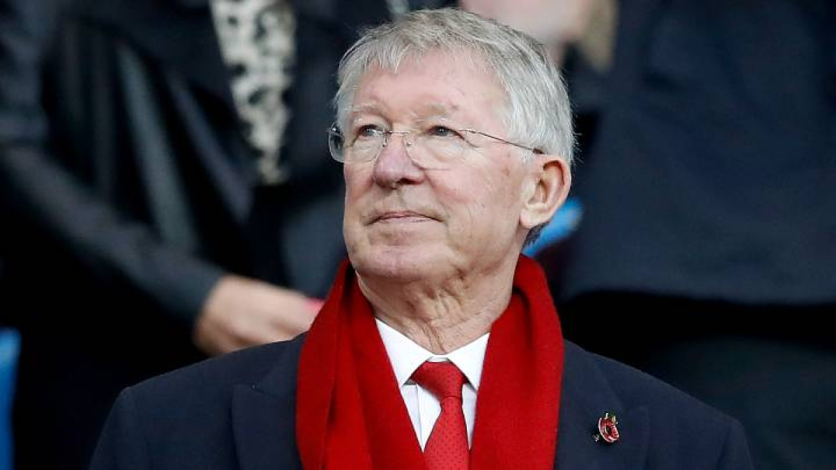 Legendary Manchester United manager Sir Alex Ferguson