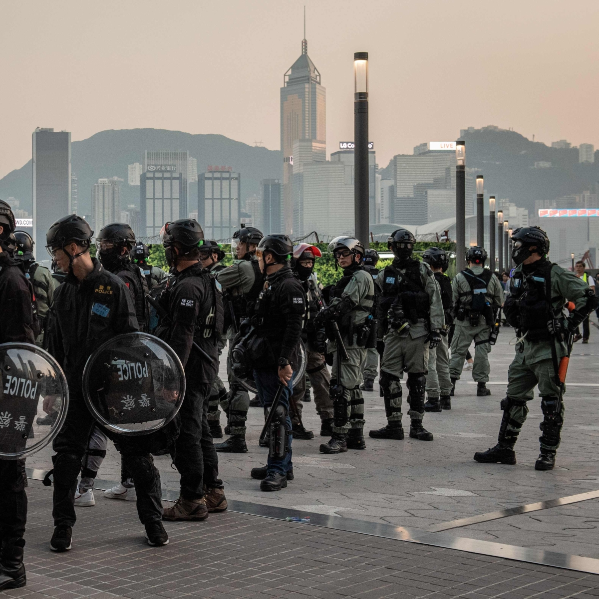 Hong Kong protesters back to the streets