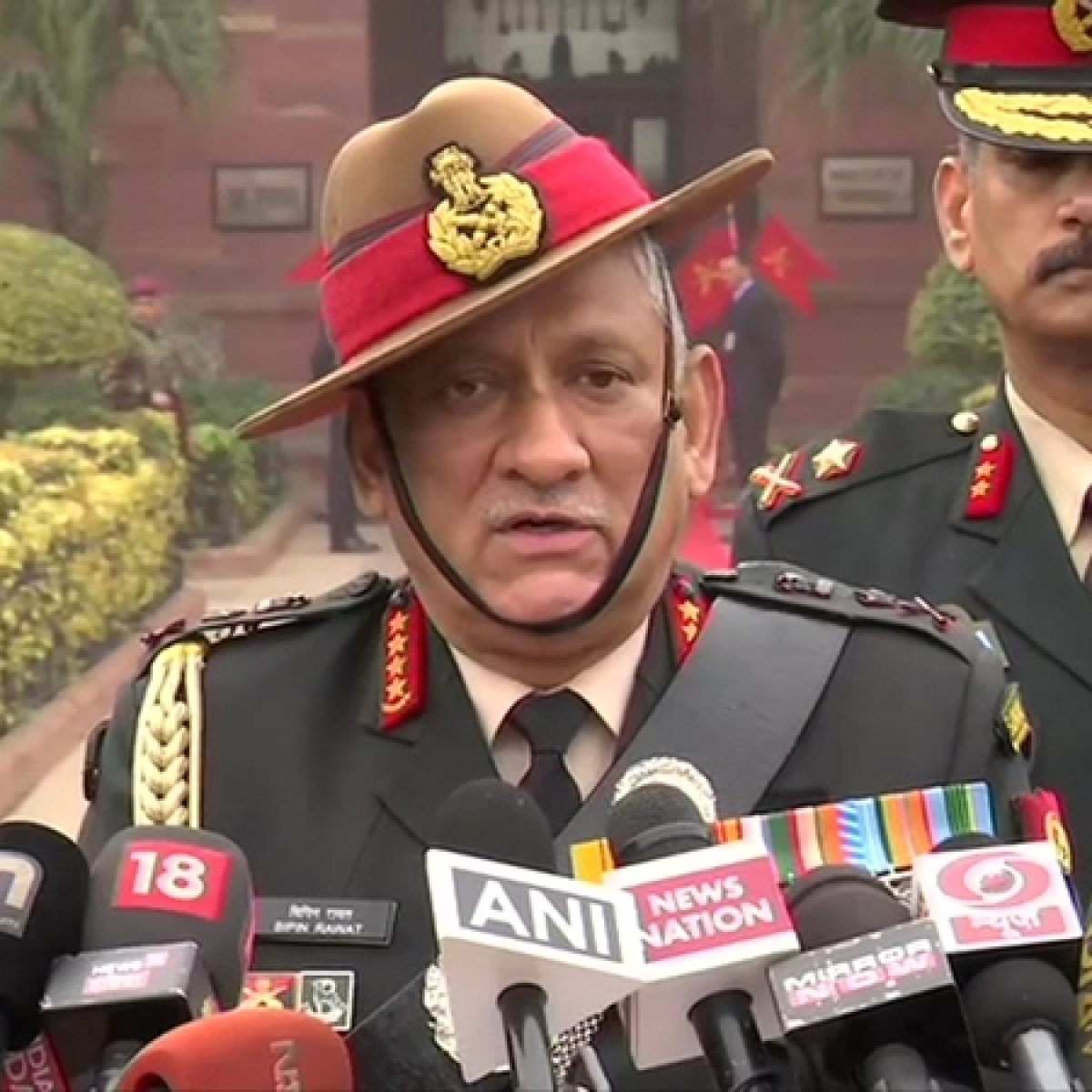 Army chief General Bipin Rawat pays tributes at National War Memorial, receives farewell Guard of Honor