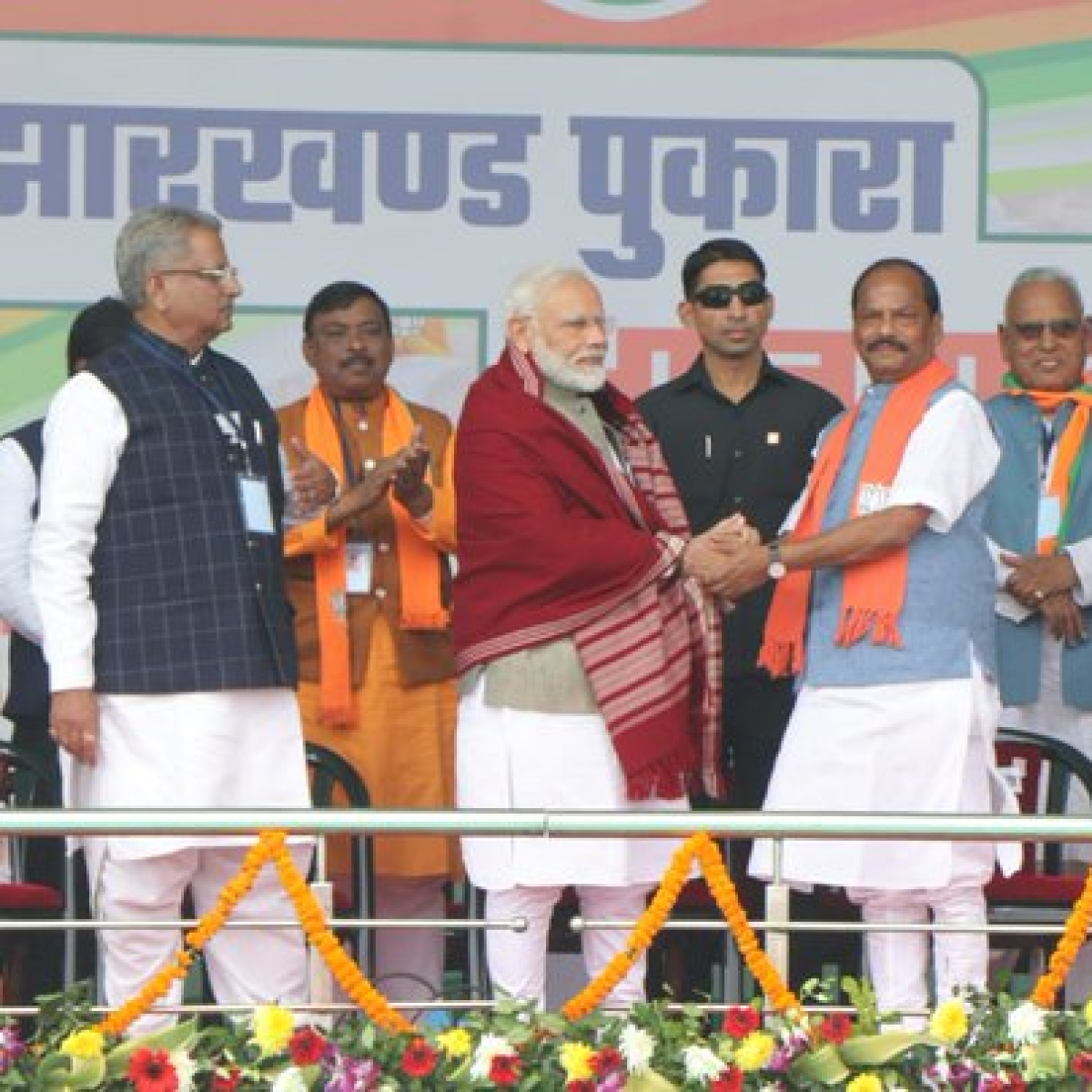 Modi shares stage with murder accused - who is Jharkhand BJP candidate Shashi Bhushan Mehta?