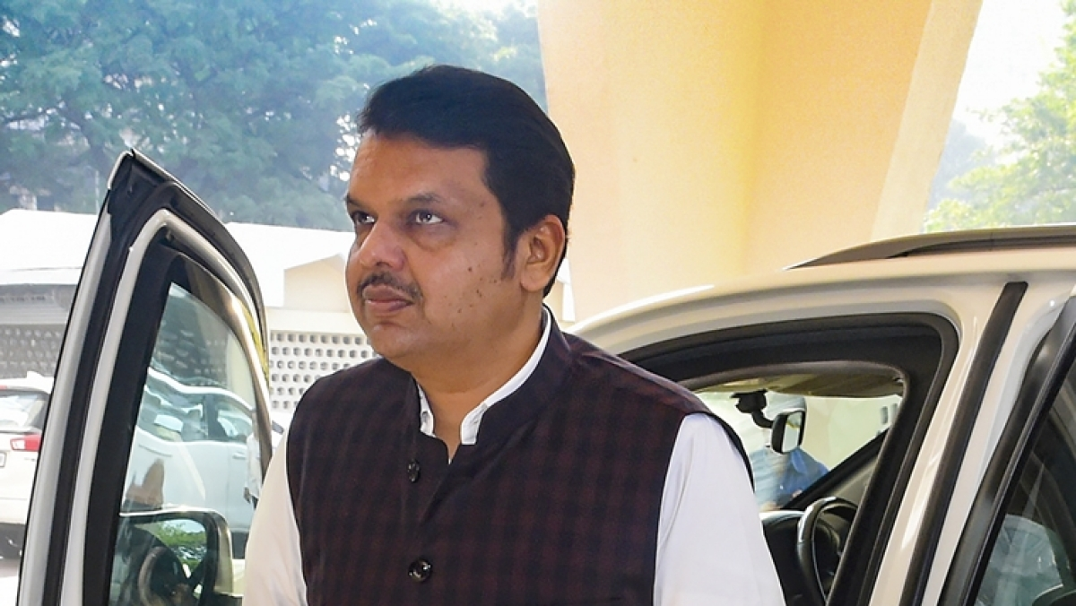 Former Maharashtra CM and opposition leader Devendra Fadnavis.