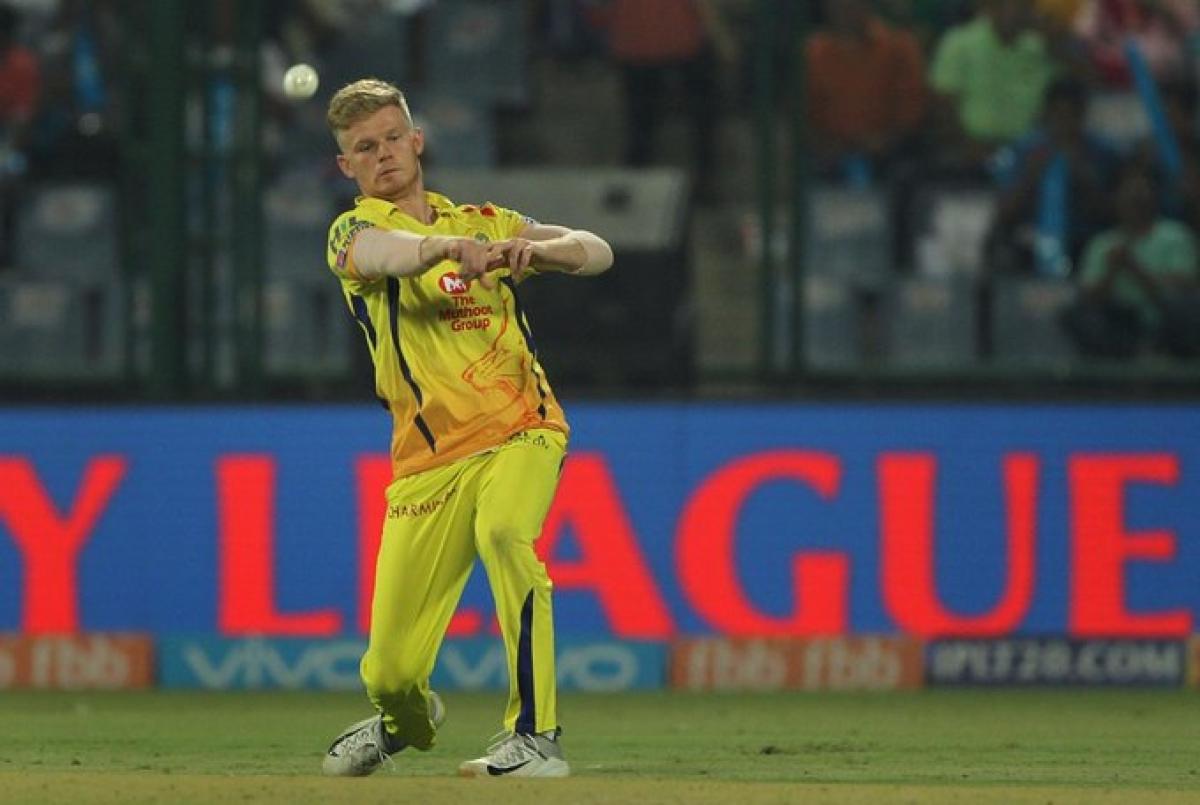 Sam Billings playing for Chennai Super Kings in IPL 2019