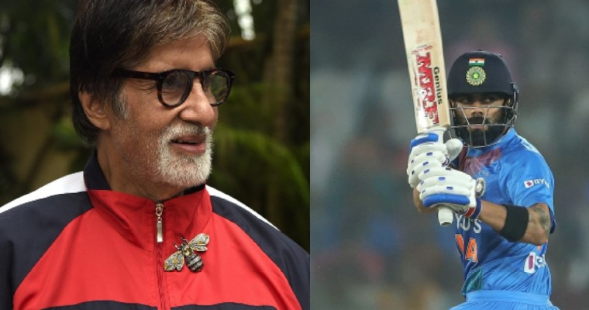 'Love the dialogue': Even Virat Kohli can't keep calm after Amitabh Bachchan's epic repartee