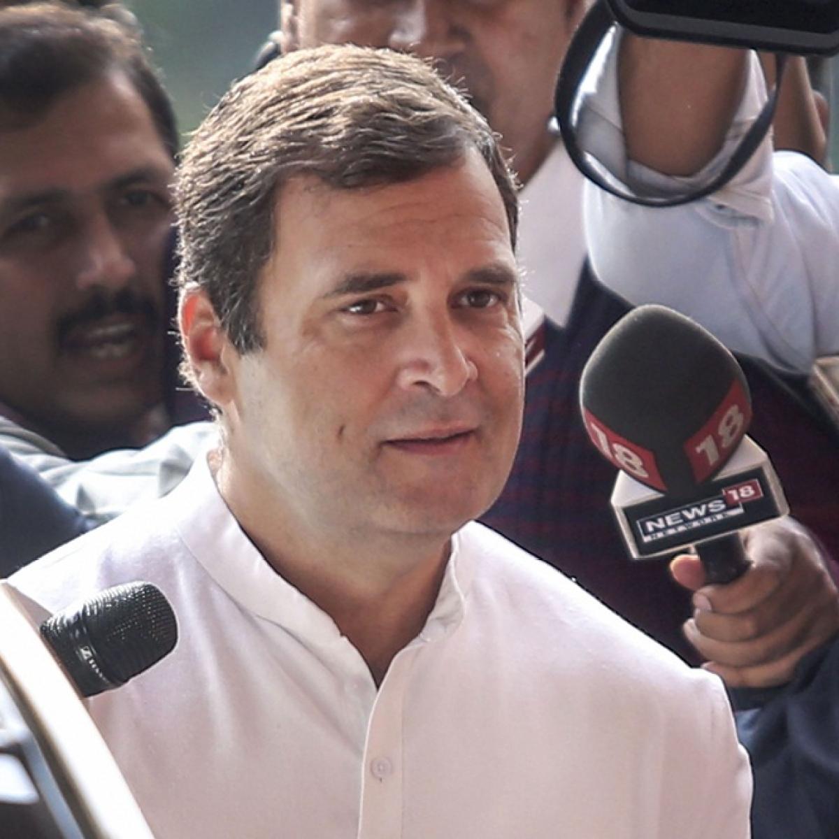 Chidu's 106-day custody was vengeful, vindictive: Rahul