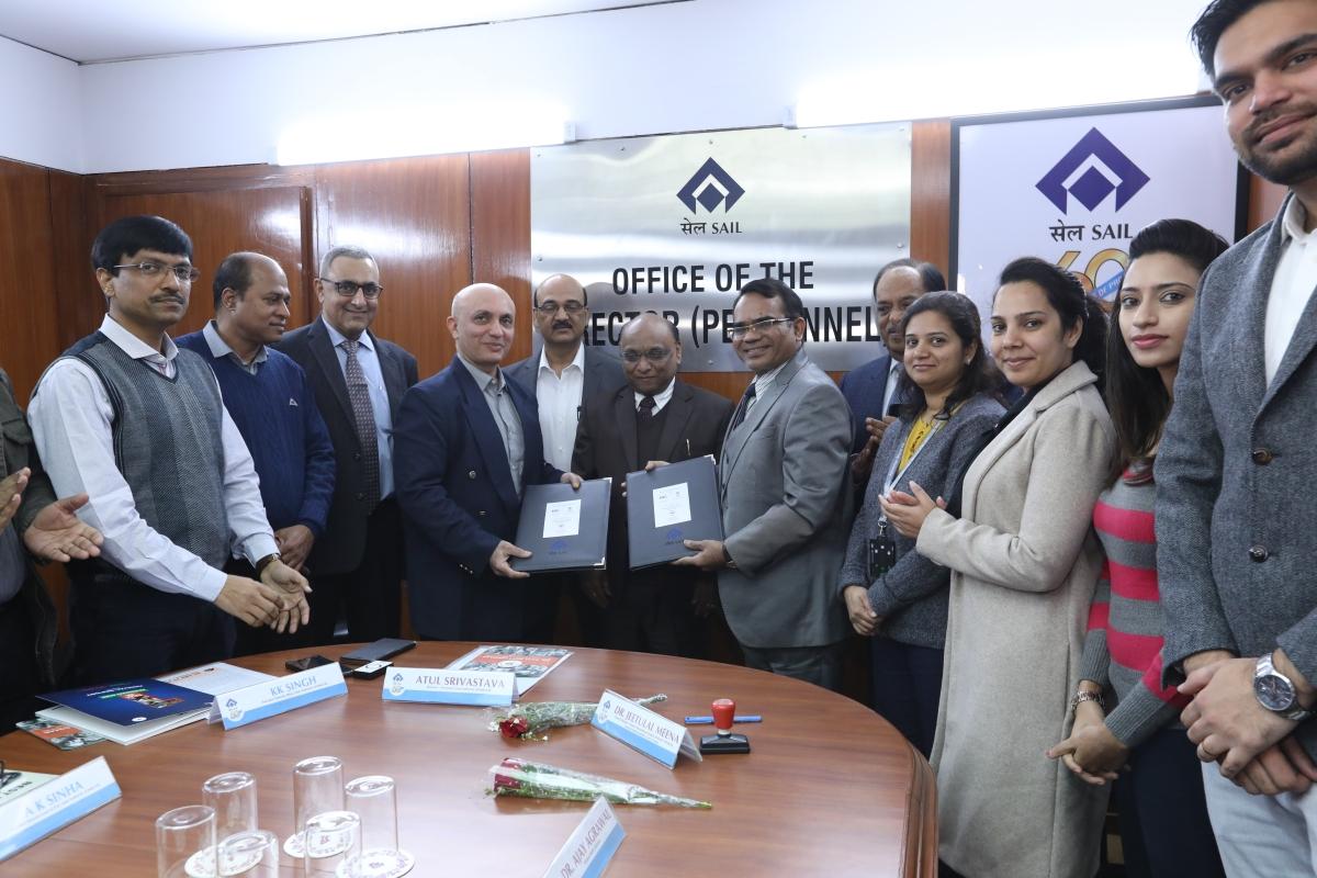 SAIL signs MoU for Ayushman Bharat Pradhan Mantri Jan Arogya Yojana