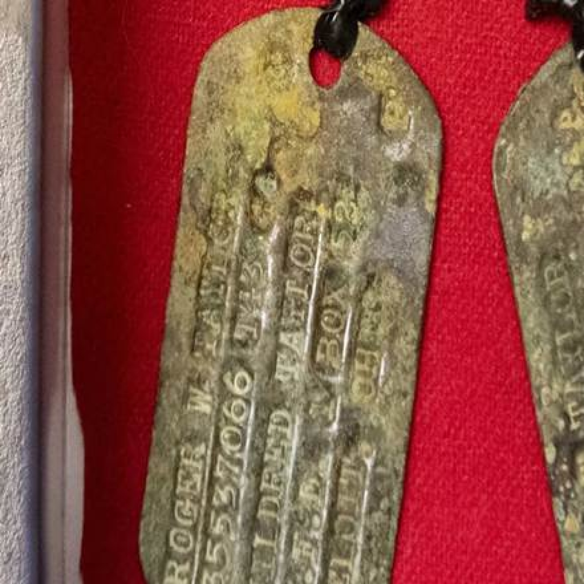 After 75 yrs, dog tags of WWII soldier killed in battle of Bulge, return home