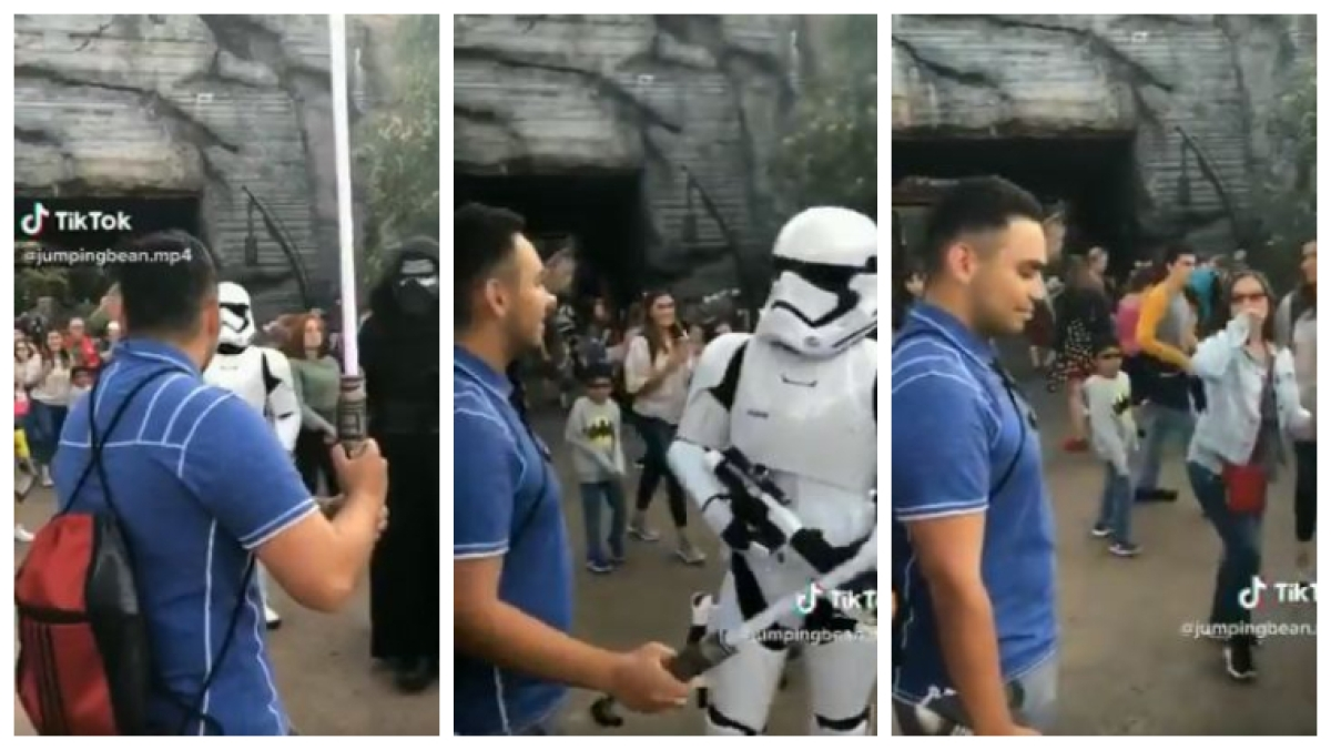 'If there's one Jedi left, it's not you': Star Wars' fan's Disneyland trip ends in disappointment