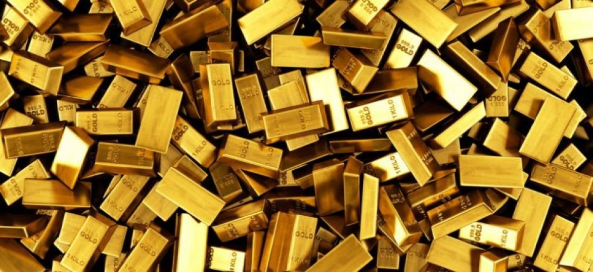Gold prices slip on Monday after closing 1.25 per cent lower in November