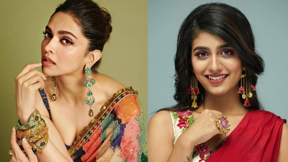 Priya Prakash Varrier fangirls over Deepika Padukone's wink challenge