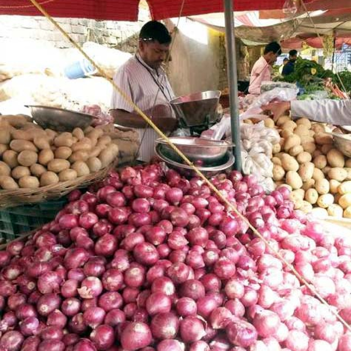 Four MP government-run-kiosks selling onion at Rs70 per kg in Bhopal