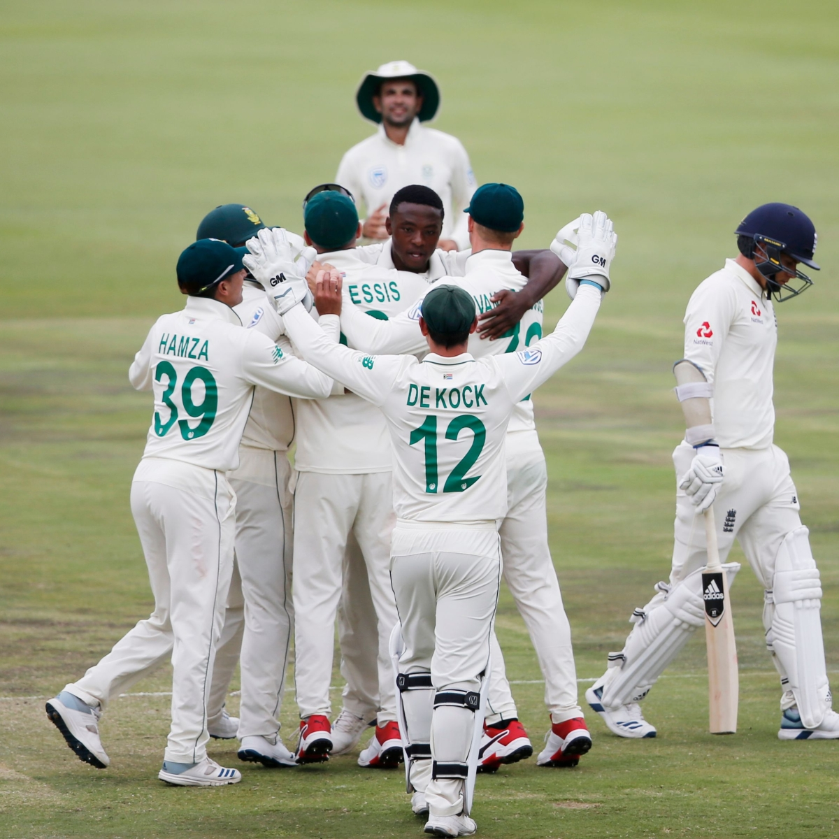 Rabada, Nortje shines as South Africa thumps with 107-run victory over England