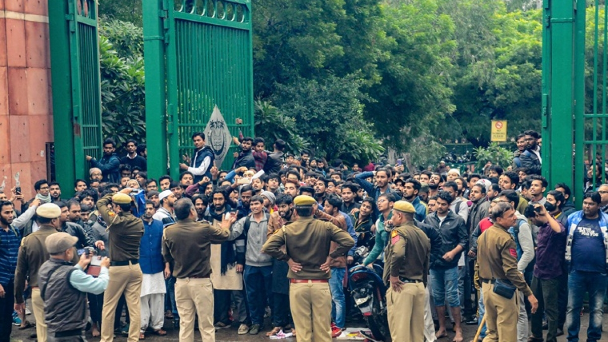 'I am not even Muslim': Meet the student who has become the face of Jamia protest