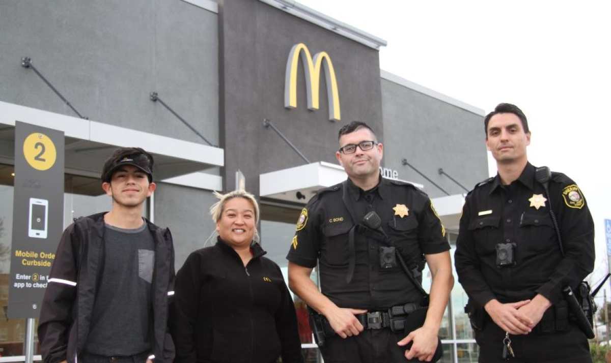 California's McDonald's helped save woman asking for help from man who threatened to kill her