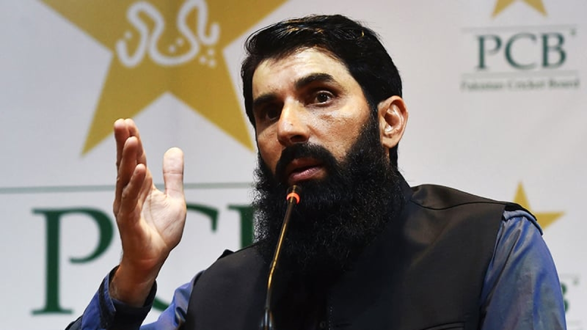 Players from west likely to have mental health issues: Pakistan coach Misbah-ul-Haq on playing in bio-bubble