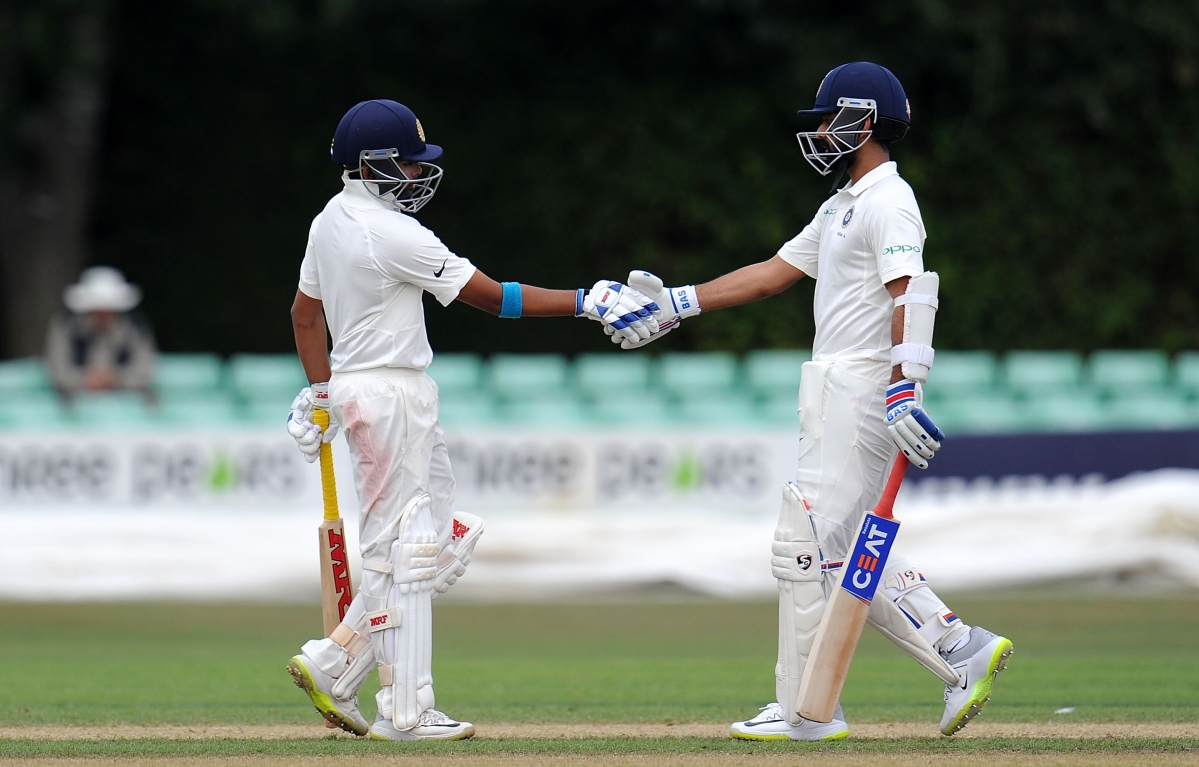 Ajinkya Rahane and Prithvi Shaw in  Mumbai Squad