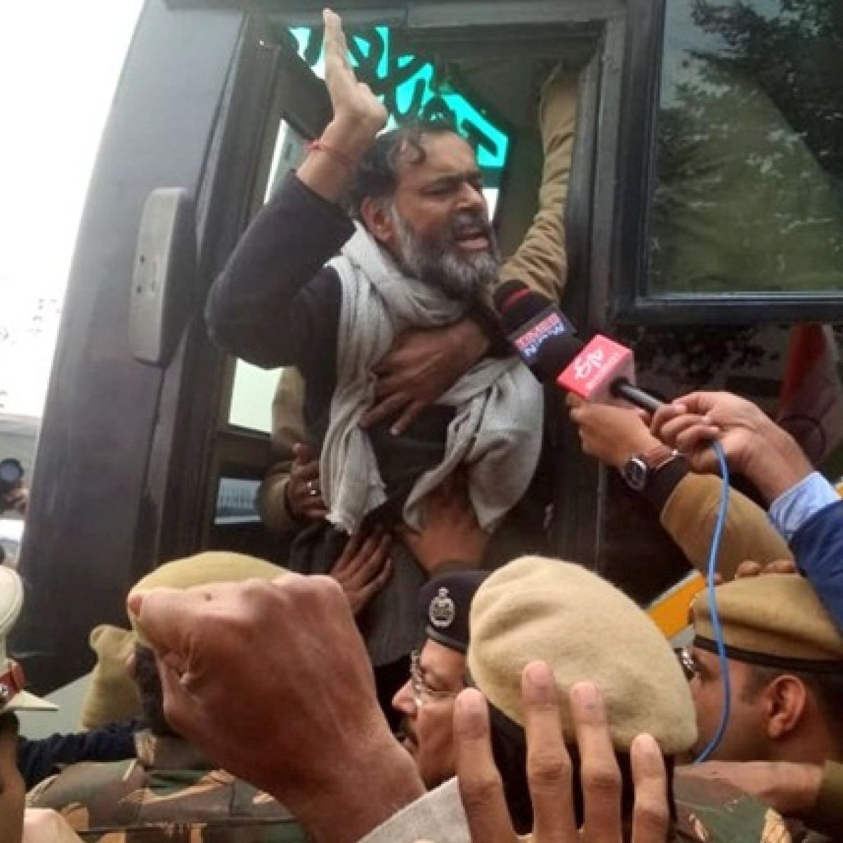Yogendra Yadav detained during CAA protest in Delhi, calls it an 'honour'