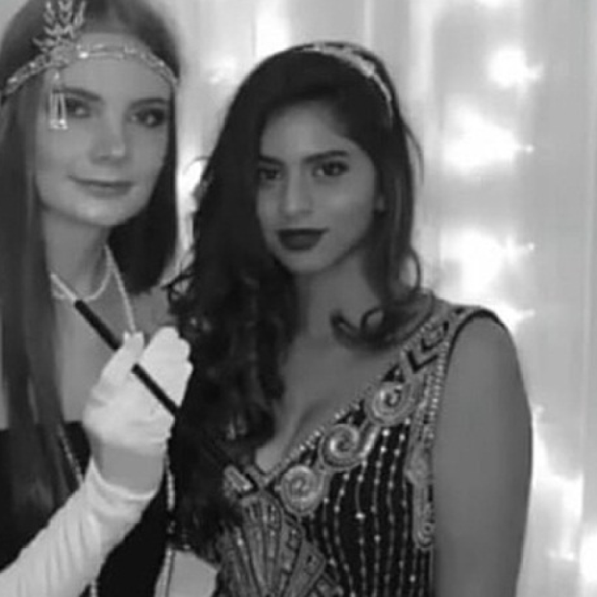 Naughty or nice? Suhana Khan slays at a dress up party with friends