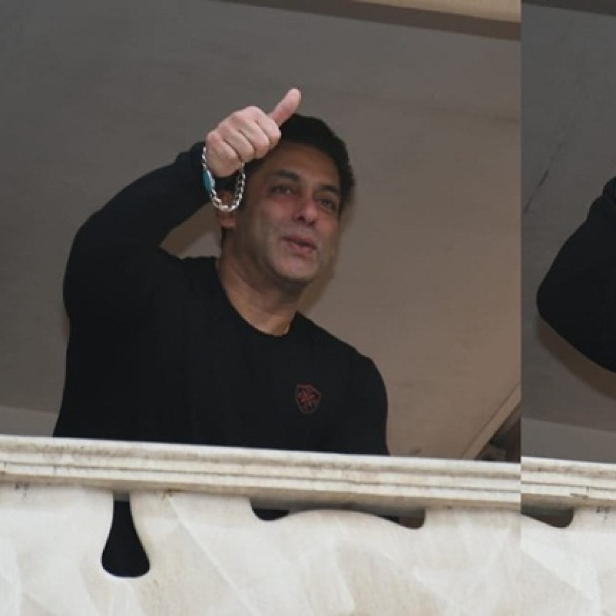 Happy Birthday Bhaijaan: Salman Khan surprises fans by greeting them from Galaxy apartment