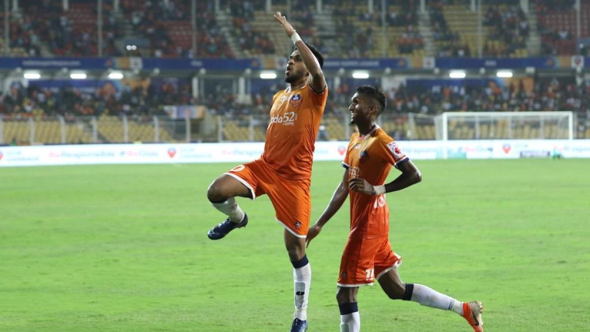 Coromina's brace fires Goa to top of ISL table