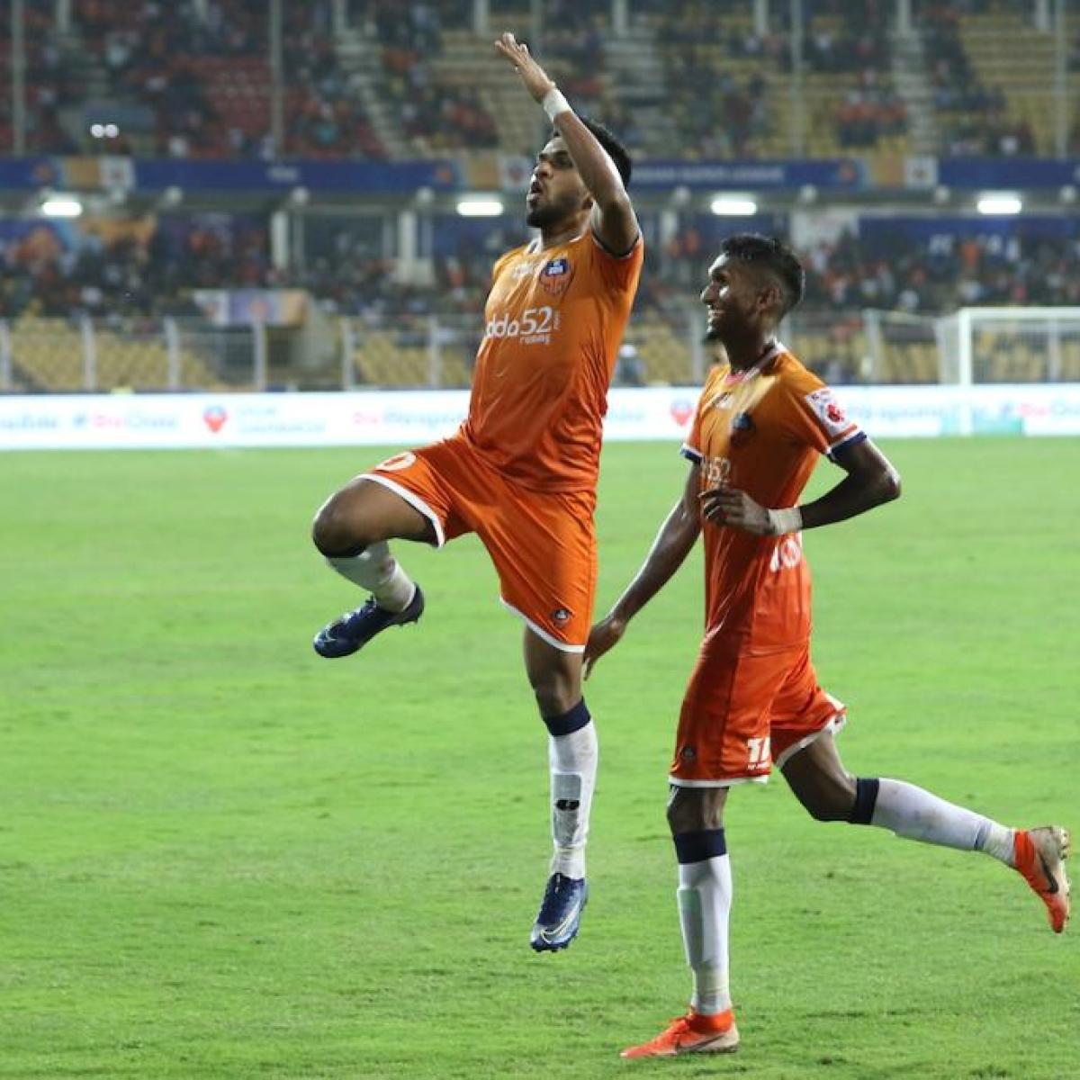 Coromina's brace fires Goa to top of ISL table