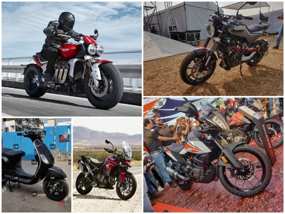 Top 5 Bike News Of The Week: KTM 390 Adventure and 250cc Husqvarnas Unveiled At IBW, BS6 Vespa And Aprilia Scooters Price List And More