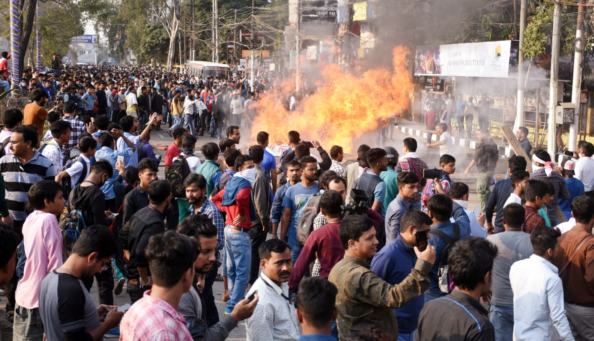 CAB protests in Assam Latest Updates: At least two killed after cops open fire in Guwahati, bus terminus set on fire